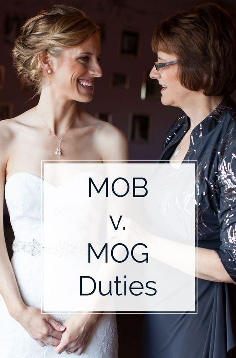 MOB vs. MOG Duties - What's the Difference? -   16 wedding Party roles ideas