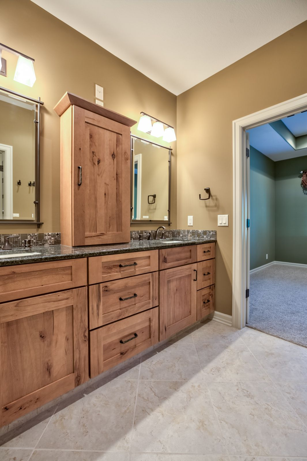 master bath with double sinks with images  new homes