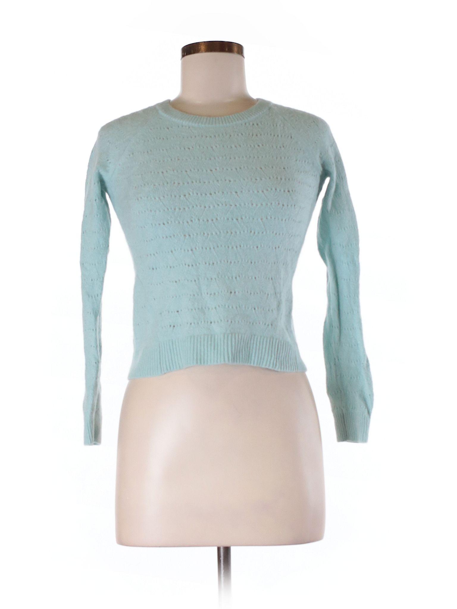 Ann Taylor Loft Pullover Sweater Size 400 Light Blue Womens