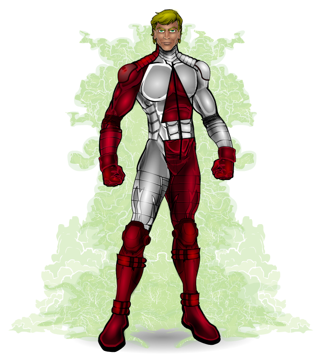The Amazing Man Is An Original Character Found On The Public Domain Super Hero Website