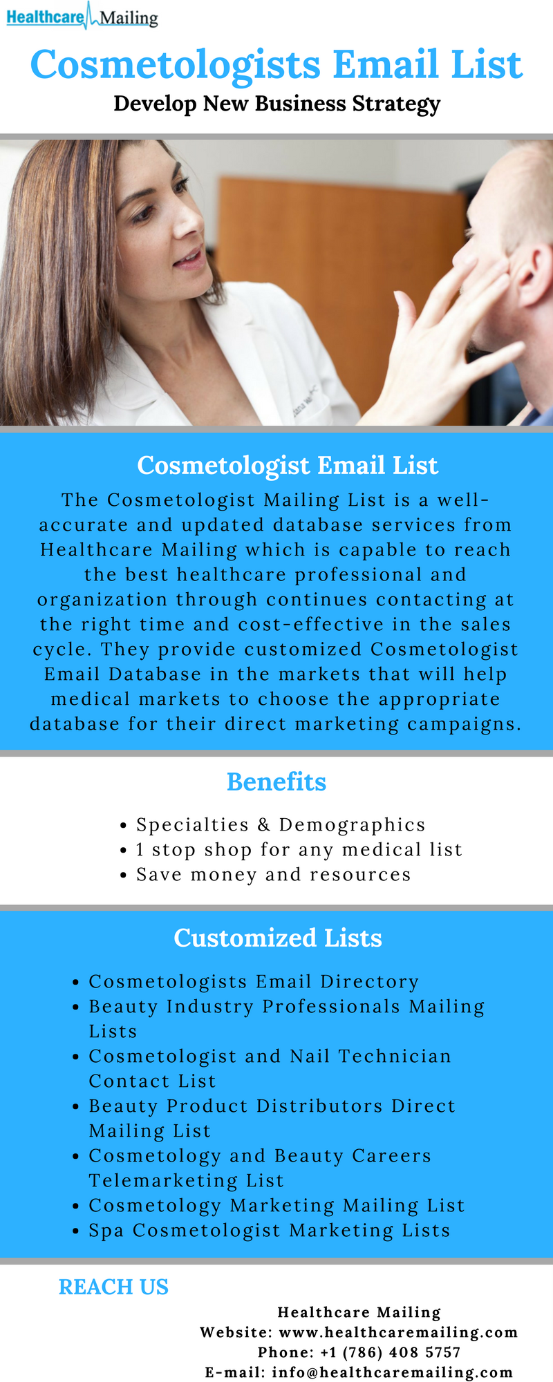 Cosmetologist Email List Increase your Business Profit