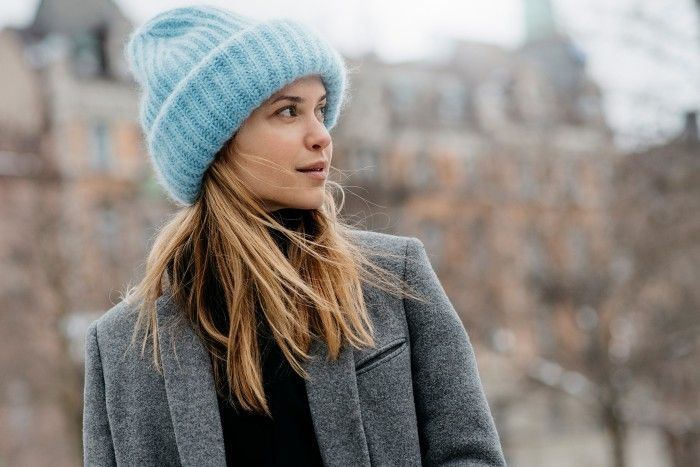 3e1fcaaec01 Knitted hats - Street Style at Stockholm Fashion Week Fall-Winter 2015-2016  (11)