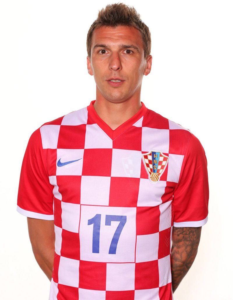 Mario Mandžukić Croatia NT
