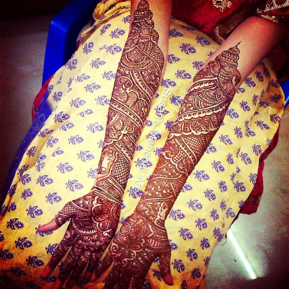Explore and Hire Best Mehandi Arts in Delhi NCR Near You