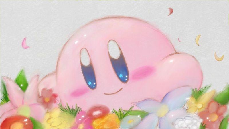 Kirby via miiverse