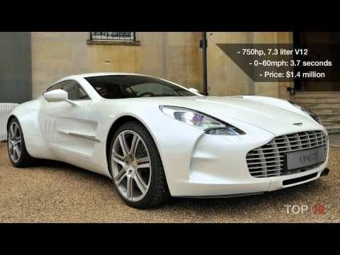 Top 10 Most Expensive Sports Cars 2012... Must Be Nice! Lol