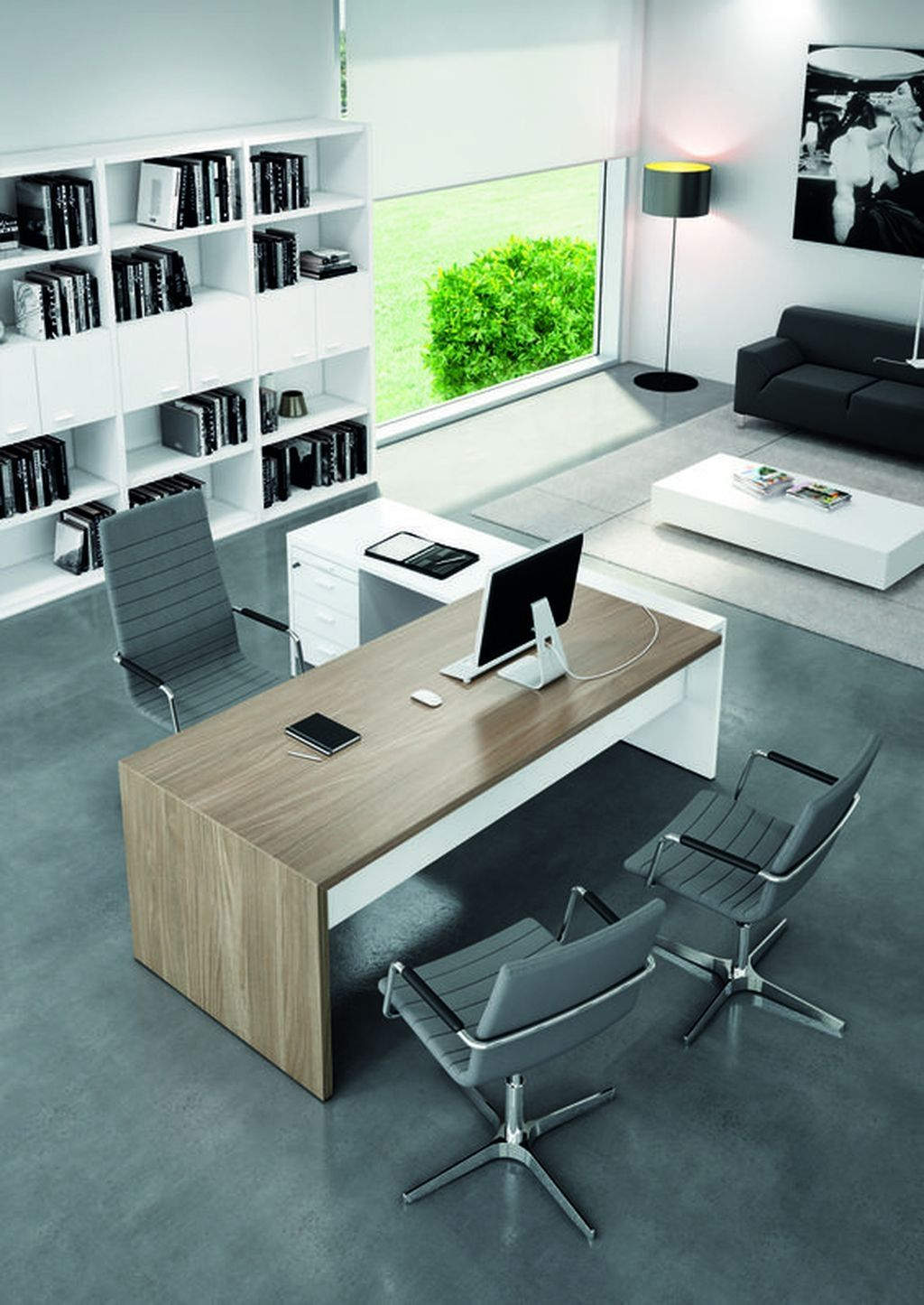Nice 36 The Best Modern Office Design Ideas Office Furniture Modern Office Desk Designs Modern Office Design