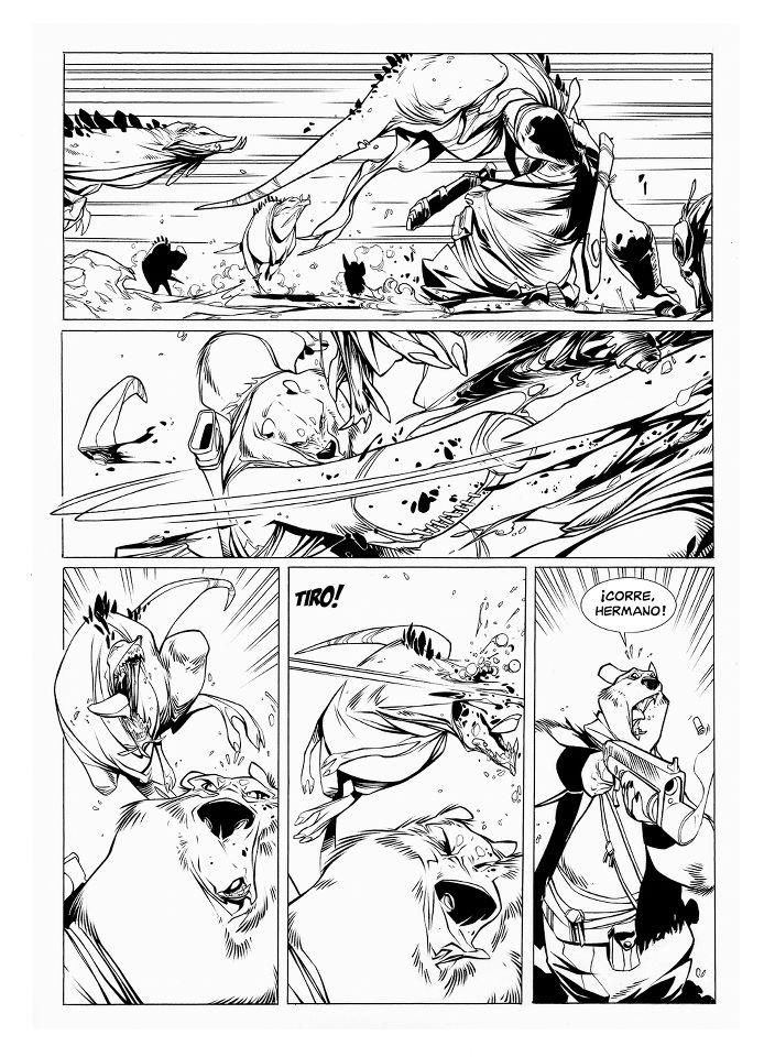 Raul Moreno  LayoutAnimaticStoryboards    Comic