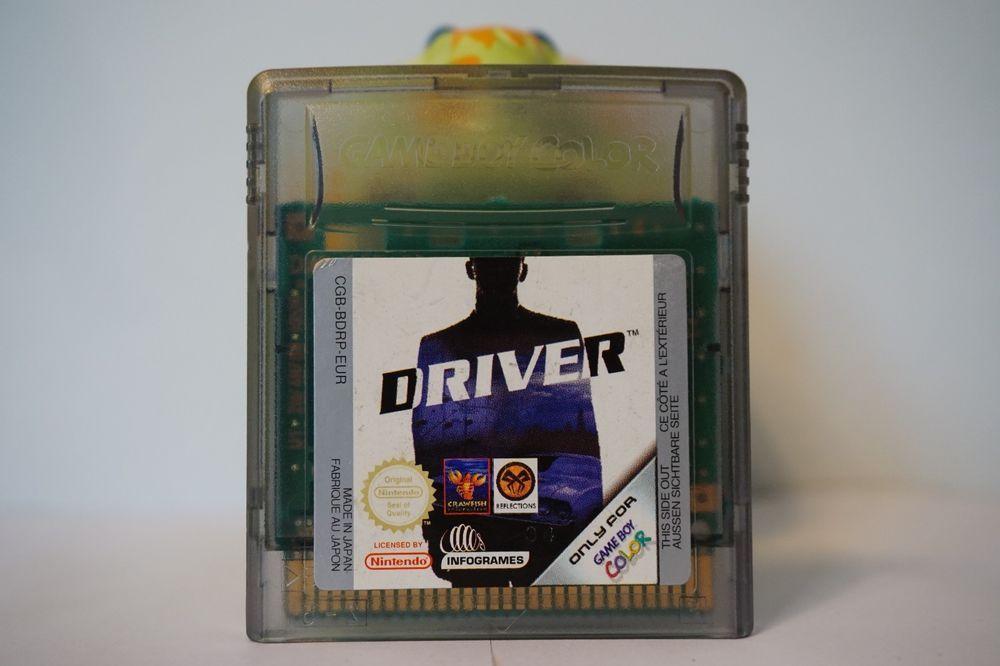 Driver Nintendo Game Boy Color Gameboy infogrames 6388