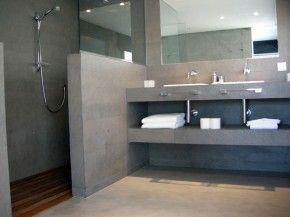 betonnen meubel; lage muur | badkamer | pinterest | photos and tes, Badkamer