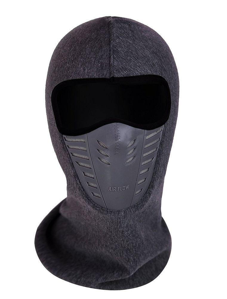 66ddeae0f29 Face Mask Ski Protection Winter Fleece Cold Snow Weather Hat Head Wear Neck  Gear  FullFaceMask