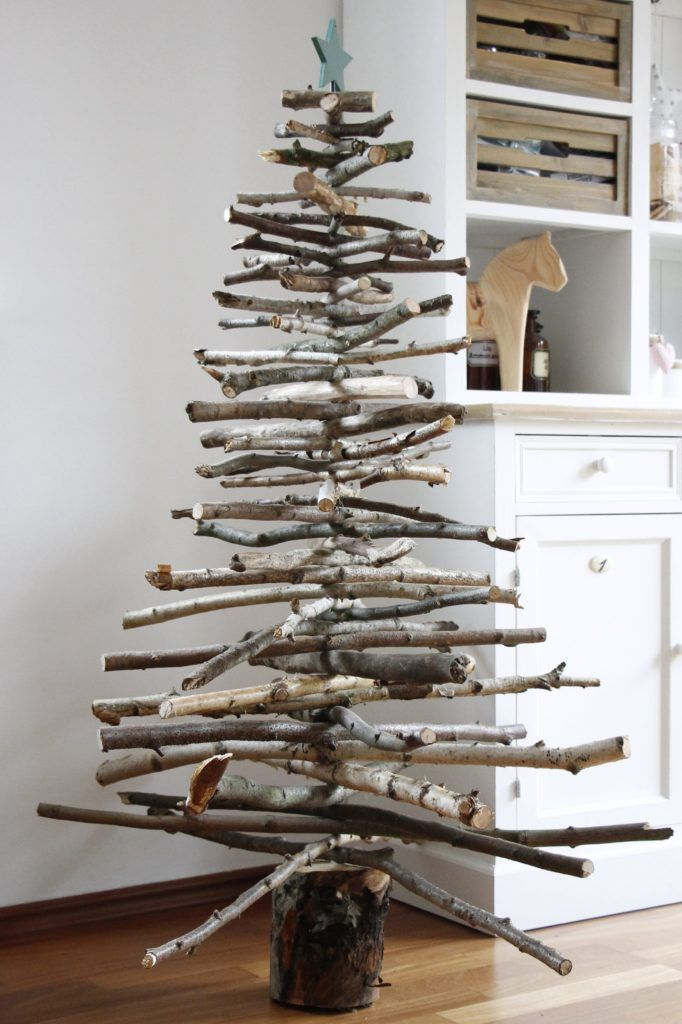 Photo of Christmas DIY idea: building a Christmas tree out of wood – Lavender blog