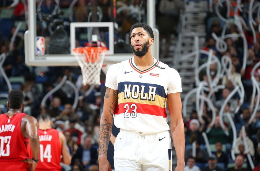 Los Angeles Lakers Three Team Trade That Lands Anthony Davis Nba Lakeshow Anthony Davis Los Angeles Lakers Brandon Ingram
