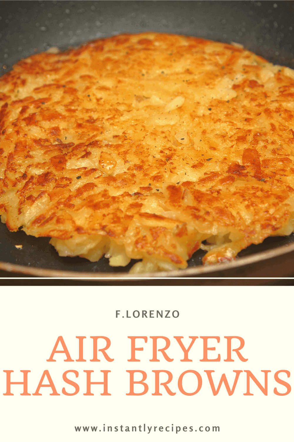 Air Fryer Hash Browns Recipe in 2020 Hashbrown recipes
