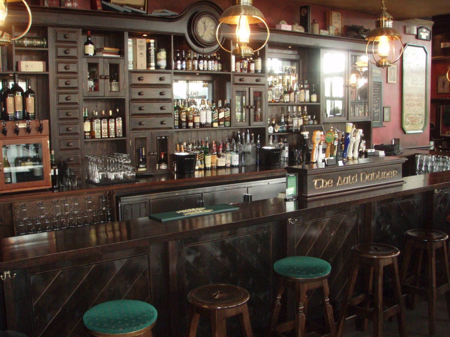 Here\'s to the Irish Pub -- the kind of place that reminds us of ...