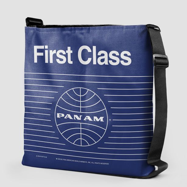 0a0212f4b8 Pan Am First Class - Tote Bag National Airlines