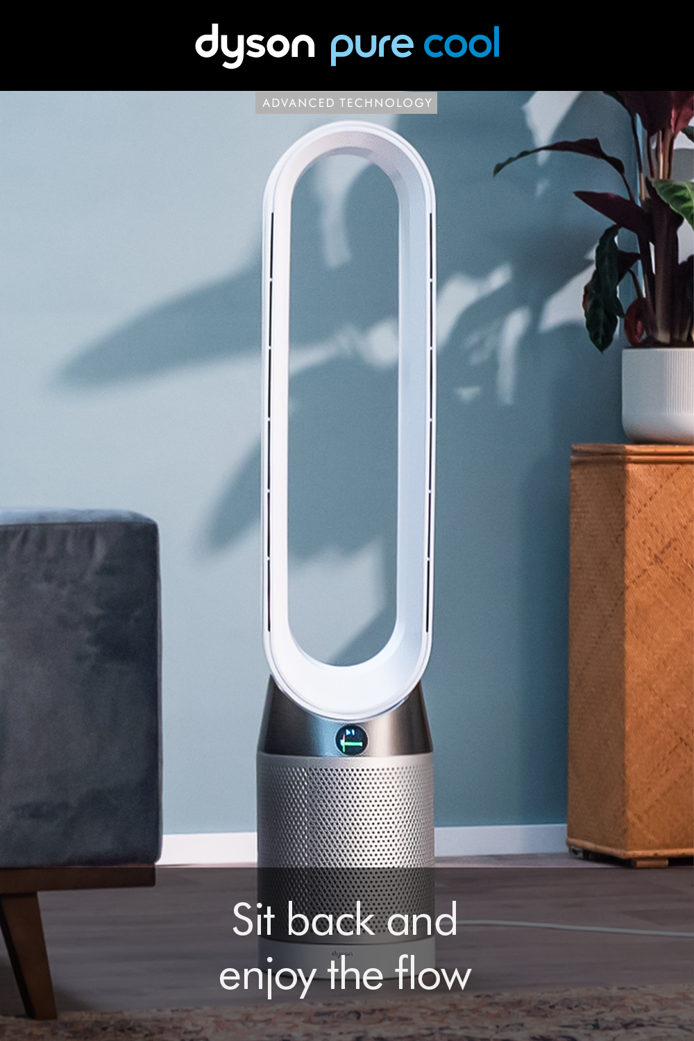 Breeze into the weekend. The Dyson Pure Cool™ provides a