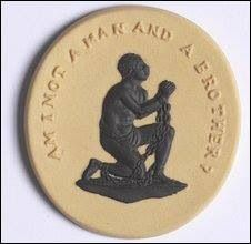 Anti-slavery medallion.