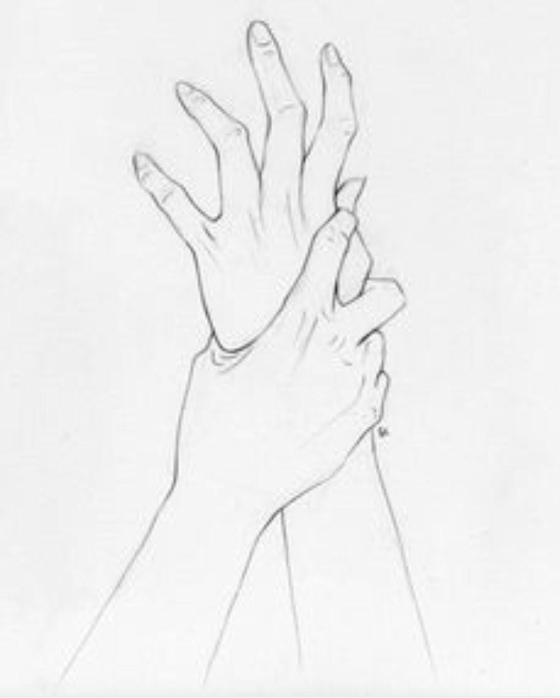 Hand References for Drawing | grabbing wrists | Sketches ...Grabbing Hand Drawing