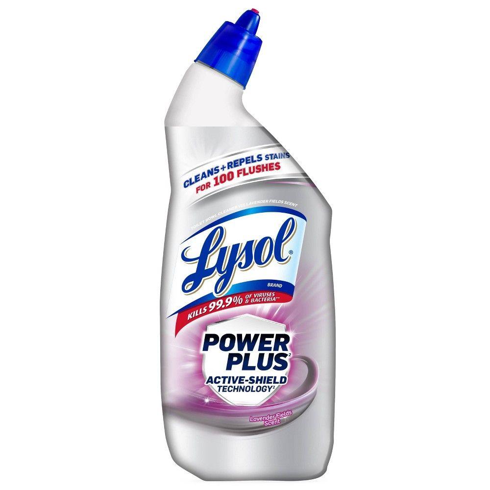 Lysol Power Plus Lavender Fields Toilet Bowl Cleaner 24 Fl Oz In