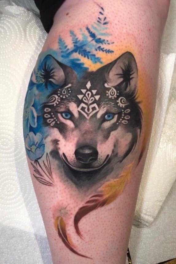 Tattoo uploaded by Cloto Acherontia | Wolf for Emma. Thanks for Your trust. You sat like a rock! 🧡 @inkablyco Using @eternalink @barber_dts @cheyenne_tattooequipment @yayofamilia tattoo aftercare. . . . #tattoo_awards #tattoolifemagazine #inkably #tattoodo #tattoodoapp #tattoodotcom #theartoftattoing #tattoolifemagazine #tattoolovers #inked #illustration #inkjunkeyz #inkstagram #tattoo2me #tattooflash #londontattoo #italiantattooartist #bestitaliantattooartist #tatuaggio #tatuaje #mujer #wolf #