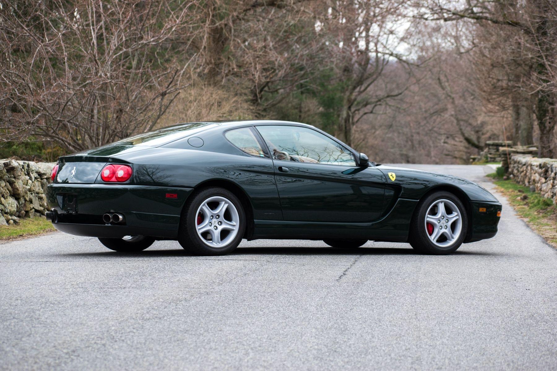 1999 Ferrari 456 M Gt Ferrari 456 Ferrari British Racing Green