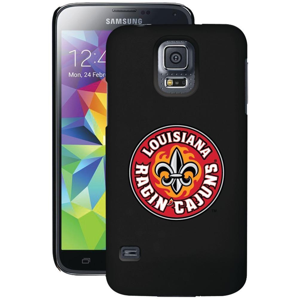 COVEROO 721-7513-BK-HC Samsung(R) Galaxy S(R) 5 Thinshield Case (Louisiana Ragin' Cajuns(R) Primary Mark)