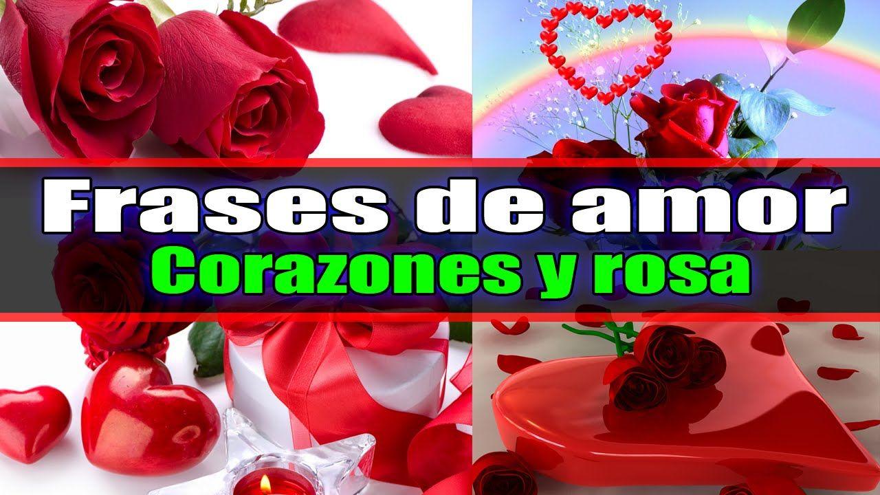 Corazones Rosas Rojas Frases De Amor Para Dedicar Rosas Rojas