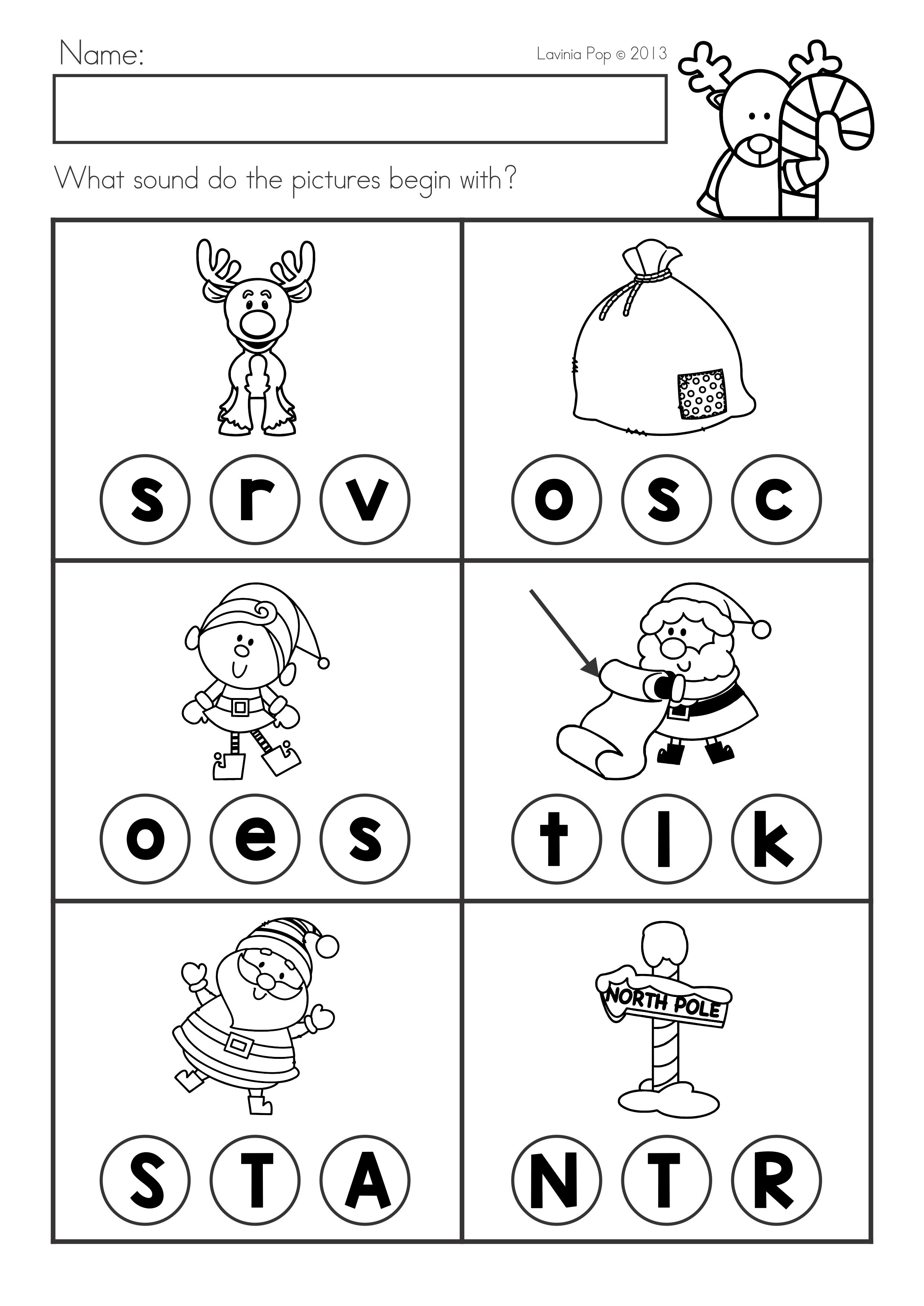 Christmas Math Amp Literacy Worksheets Amp Activities No Prep