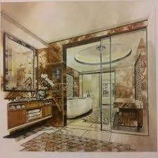 ผลการค้นหารูปภาพสำหรับ interior design marker rendering