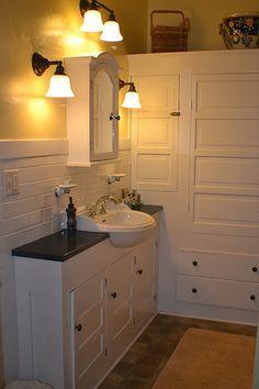 Photo of Craftsman Apartment Bathroom 1 2012