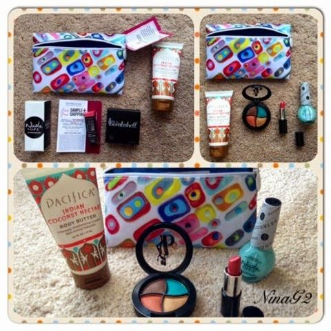 Nina's Budget Saver: Ipsy Official Glam Bag for March 2014 | My