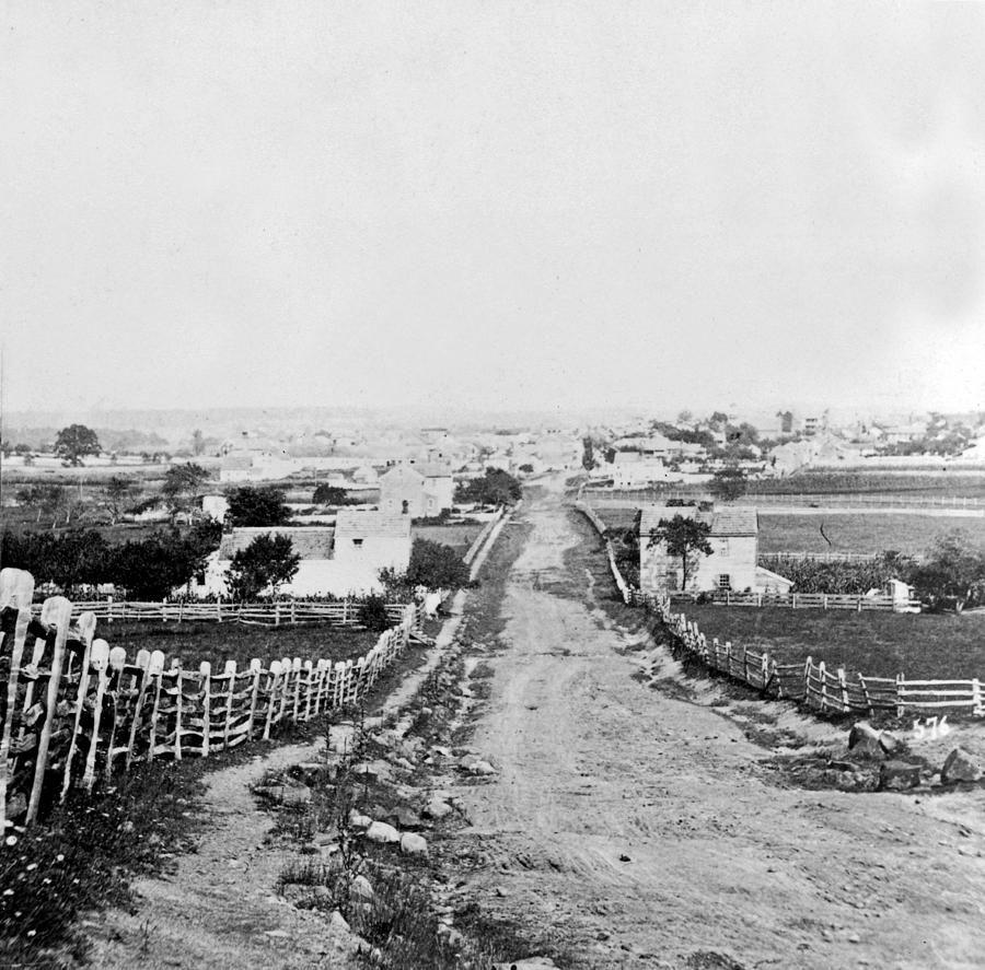 Gettysburg Battlefield Vintage C 1870 By International Images Civil War Photos Gettysburg Battlefield Civil War History
