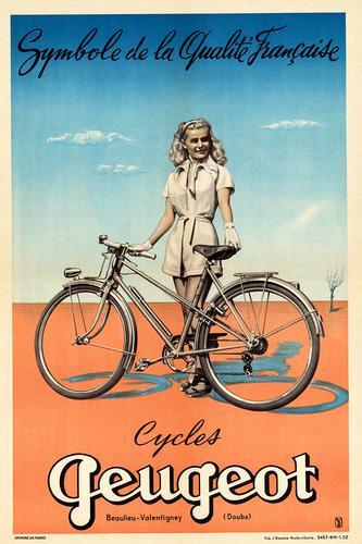 Vintage French Tour de France Cycling Poster A3 Print