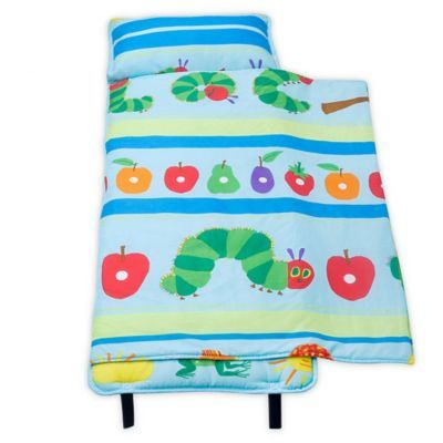 Wildkin The Very Hungry Caterpillar Nap Mat In Blue Very Hungry