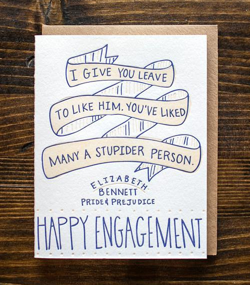 Stationery a z engagement congratulations cards rock paper stationery a z engagement congratulations cards m4hsunfo Image collections