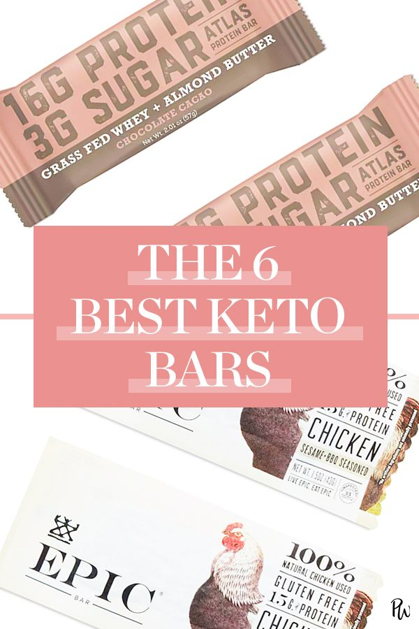 6 Keto Bars That Are Full of Flavor (Not Carbs) | Keto ...