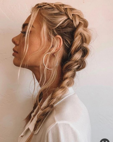 Hairstyle Ideas For Round Face Hairstyle Ideas With Extensions Hairstyle Idea Hairstyle I In 2020 Cool Braid Hairstyles Hair Styles Braided Hairstyles