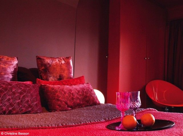 deco chambre rouge et jaune | LE ROUGE | Pinterest | Chambres ...