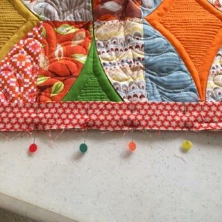 Sew Kind Of Wonderful: Tuesday Tips - Binding with Mitered corners and Invisible Join