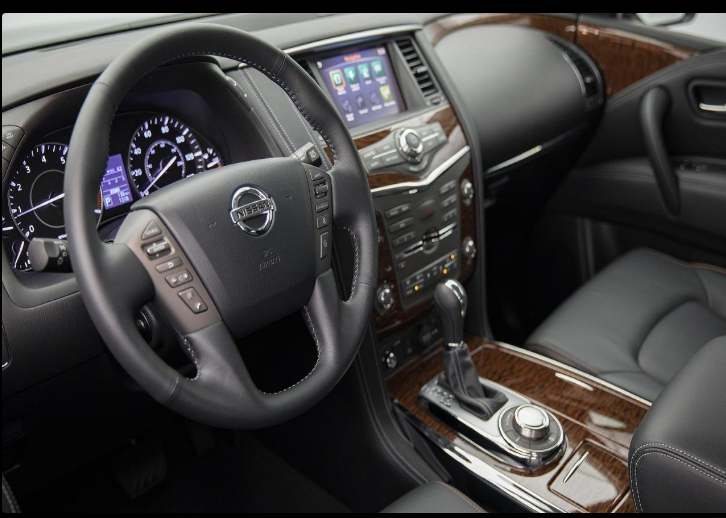 The 2018 Nissan Patrol Offers Outstanding Style And Technology Both Inside And Out See Interior Exterior Photos 2018 Nis Nissan Armada Nissan Patrol Nissan