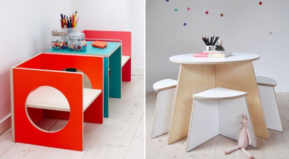 Muebles escandinavos para ni os mesas - Muebles para ninos ...