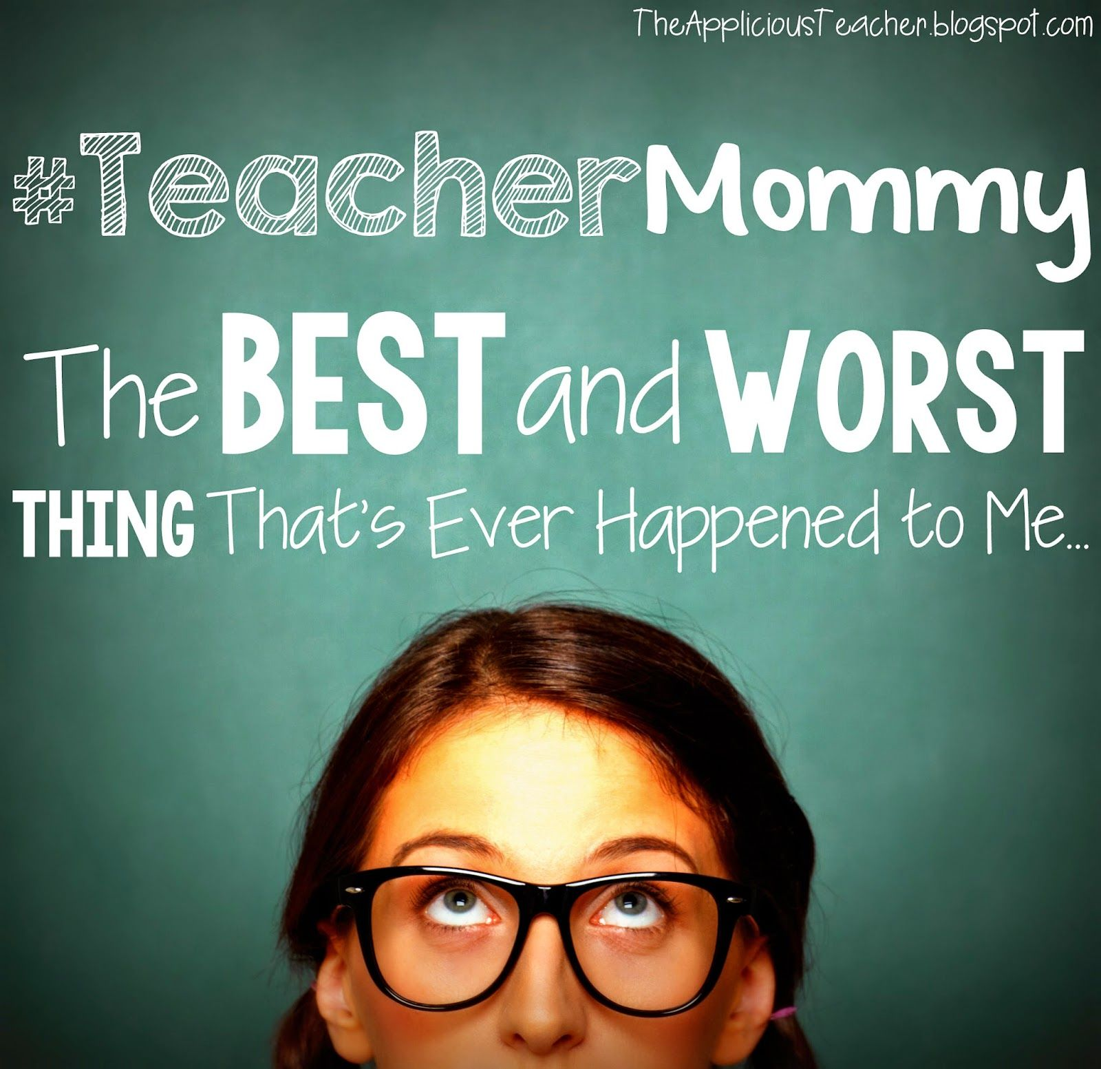 Being a teacher and a mommy is no joke!