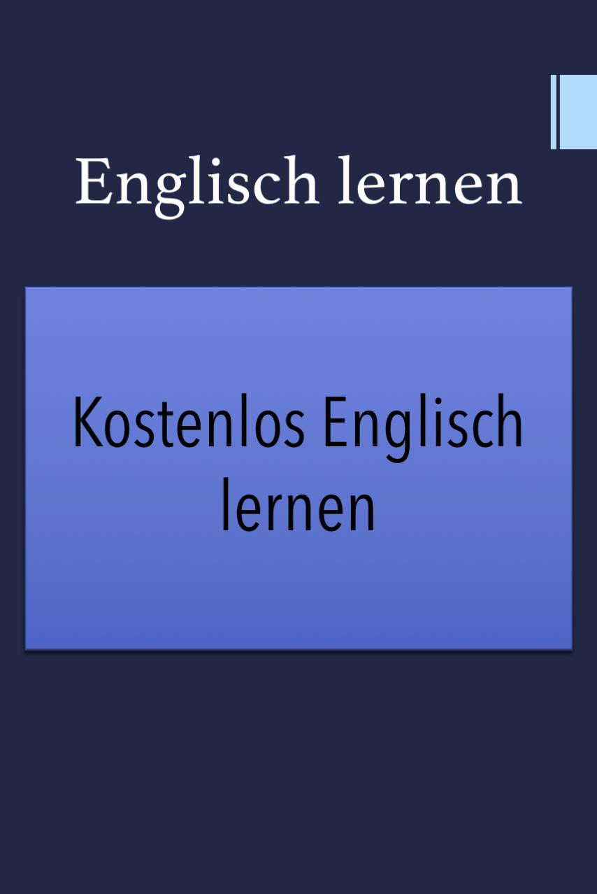 Englisch Lernen Kostenlos