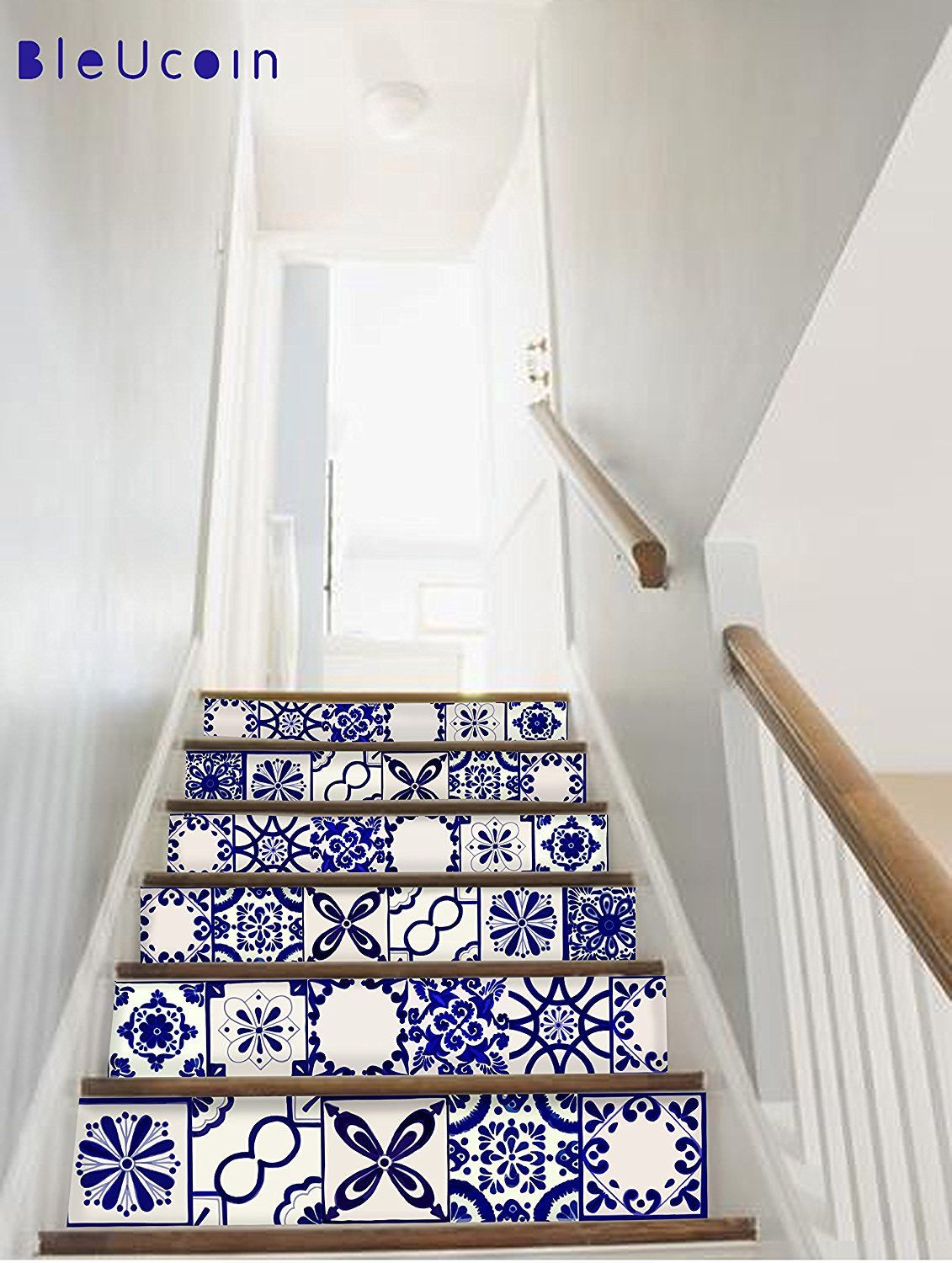 Tile/Wall/Stair decal : Classic Mexican Talavera style, Removable ...