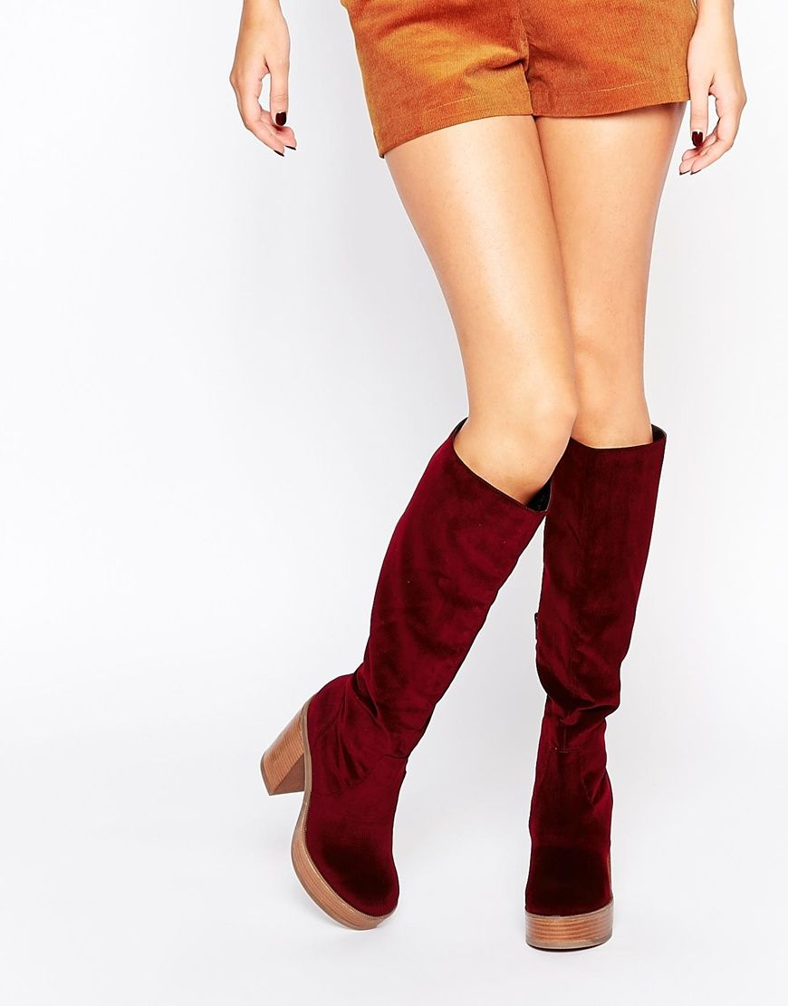 d2a2cfc3545 ASOS+CHARMED+70 s+Knee+High+Boots