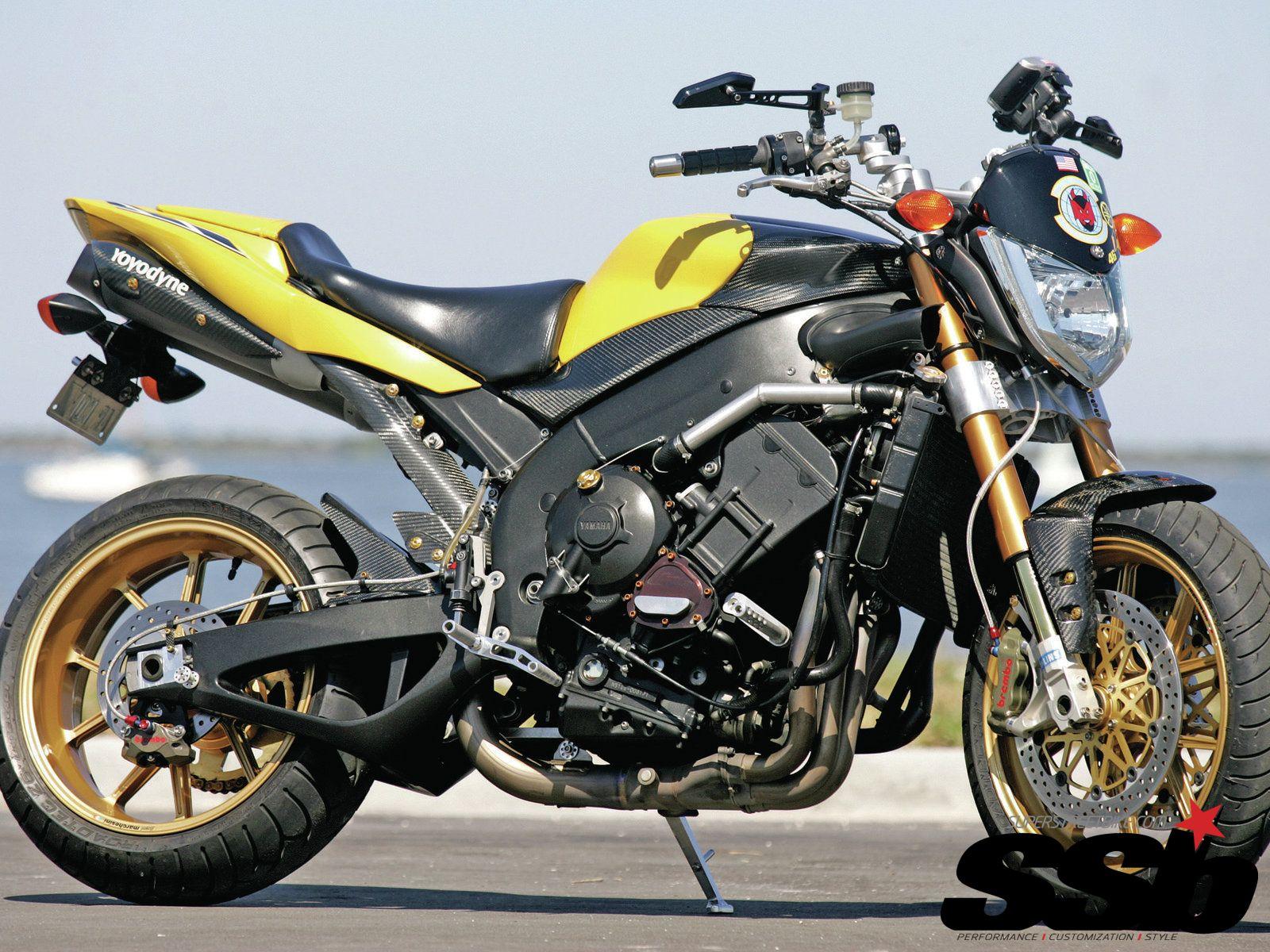2006 yamaha fz 1 fazer motorcycle streetfighter photo 1 - 2004 Yamaha Fz1 Tuning 3