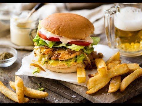 Buttermilk Fried Crispy Chicken Burger Recipe Chicken Burgers Recipe Crispy Chicken Burgers Chicken Burgers