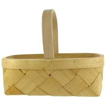 "2 Quarts - 6 3/4"" Tall Diamond Weave Basket"