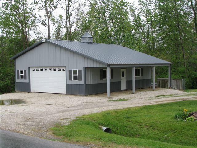 30 X 40 Pole Barn Google Search Pole Barn House